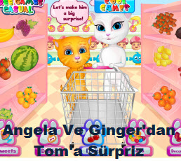 Angela Ve Ginger'dan Tom'a Sürpriz