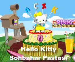 Hello Kitty  Sohbahar Pastası