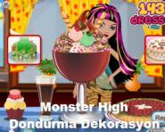 Monster High Dondurma Dekorasyon