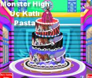 Monster High Üç Katlı Pasta